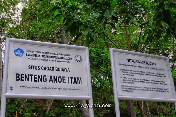 benteng anoi itam, benteng sejarah, sabang, kilometer 0 indonesia, banda aceh, cagar budaya indonesia, wisata sejarah
